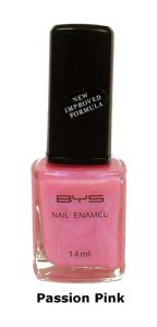 <b>BYS Nail Polish - Passion Pink No. 37</b>